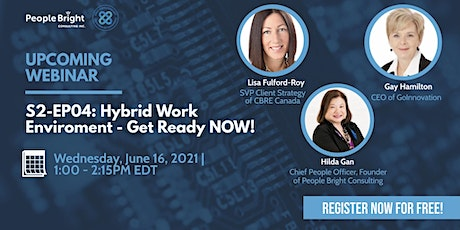 Hybrid Work Environment – Get Ready NOW! tickets