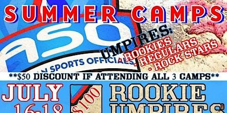 American Sports Officials, Inc   -  2021 SUMMER UMPIRE CAMPS - FLORIDA tickets