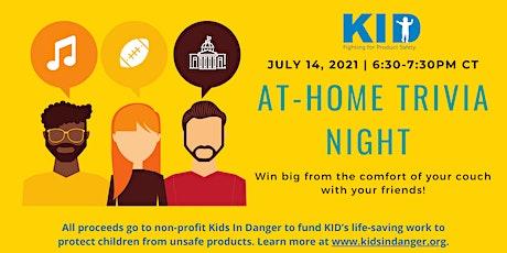KID Virtual Trivia Night tickets