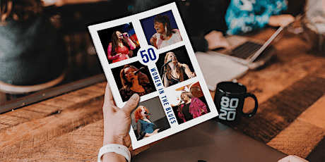 50 Women in the Blues - book launch tickets