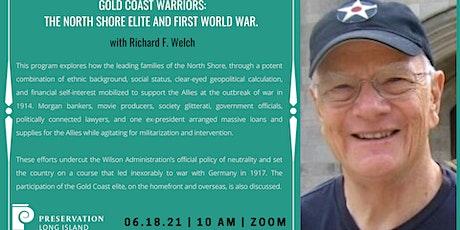 Gold Coast Warriors: North Shore Elite & First World War with Richard Welch tickets