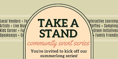Take a Stand Series | A Farm Stand Community Gathering tickets