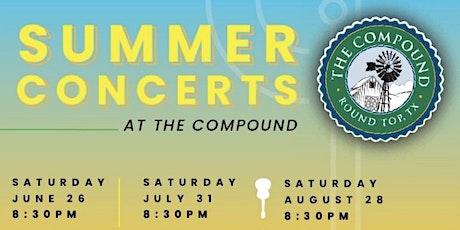 Round Top Rhapsody Summer Concert Series tickets