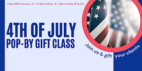 4th of July Pop-By Class tickets