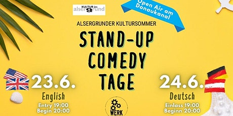 English Stand-up Comedy at the Donaukanal tickets