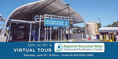 Virtual Tour of Regional Recycled Water Advanced Purification Center tickets