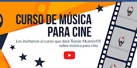 Charla introductoria - Música para cine entradas