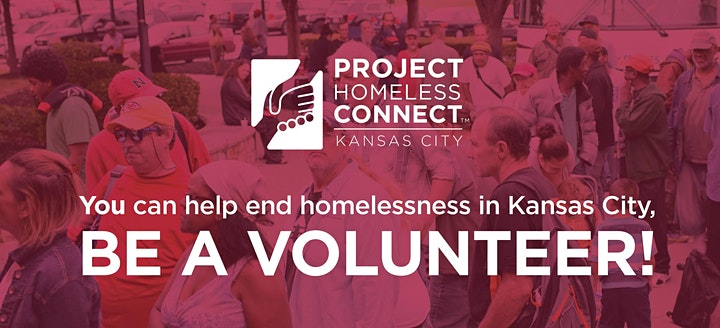 VOLUNTEER SHIFT at Project Homeless Connect KC 2021 image