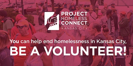 VOLUNTEER SHIFT at Project Homeless Connect KC 2021 tickets