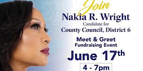 Nakia R. Wright Meet & Greet tickets