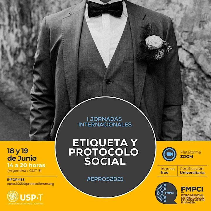 Imagen de Primeras Jornadas Internacionales de Etiqueta y Protocolo Social