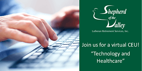 """Virtual CEU: """"Technology and Healthcare"""" tickets"""