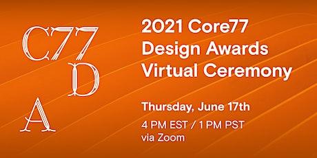 The 2021 Core77 Design Awards Awards Virtual Ceremony, Live! tickets