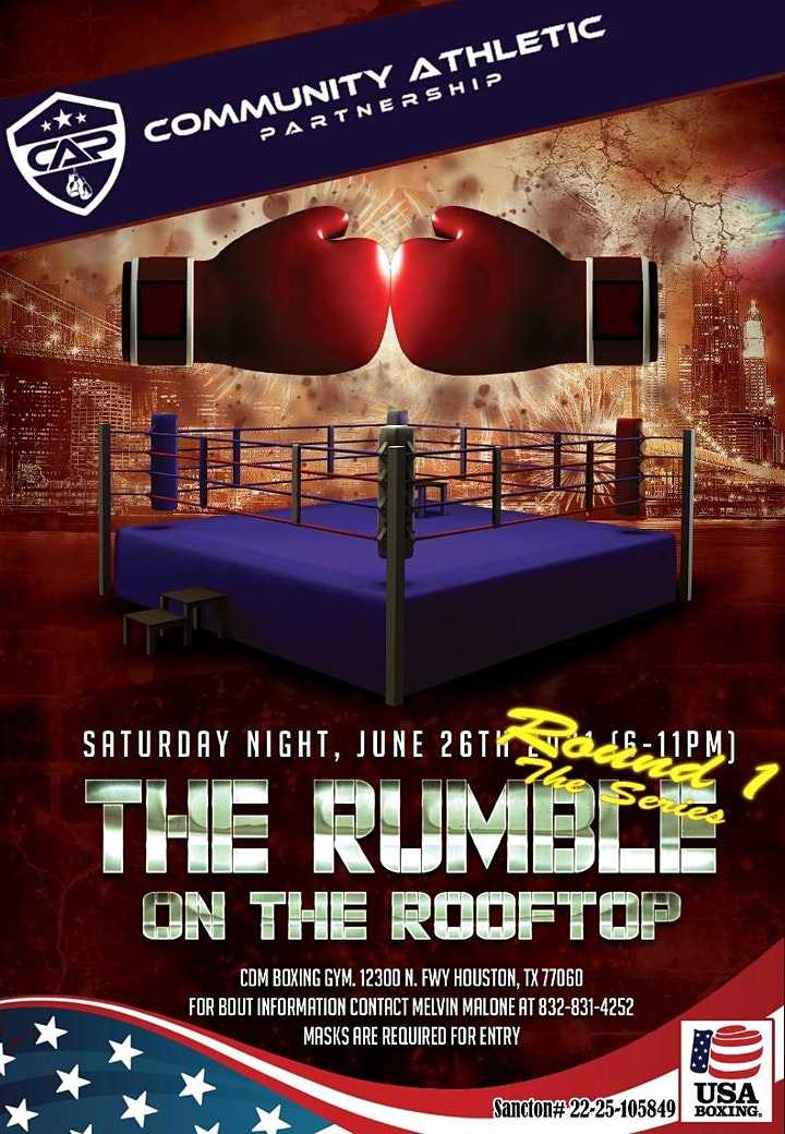 """Rumble on the Rooftop Round1 """"The Series"""" image"""