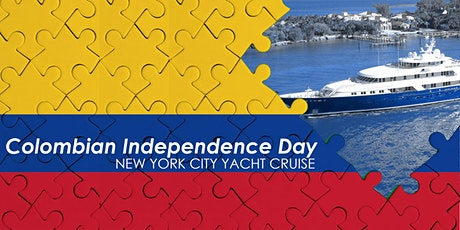 The Colombian Independence Day Celebration NYC Yacht Cruise Boat Party tickets