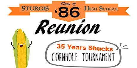 35th Reunion!  Sturgis High School Class of '86 tickets