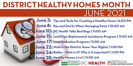 District Healthy Homes Month tickets