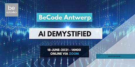 BeCode Antwerp - AI Demystified tickets