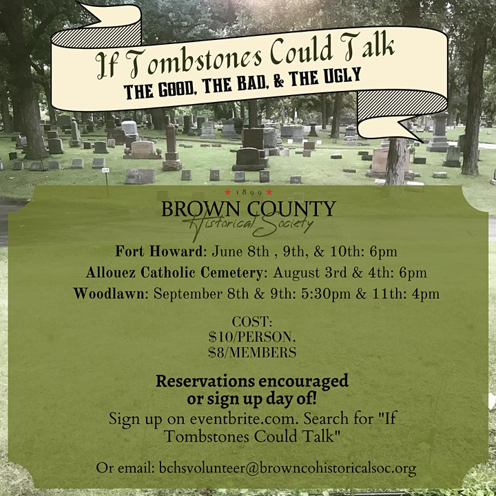 If Tombstones Could Talk: Allouez Catholic Cemetery image