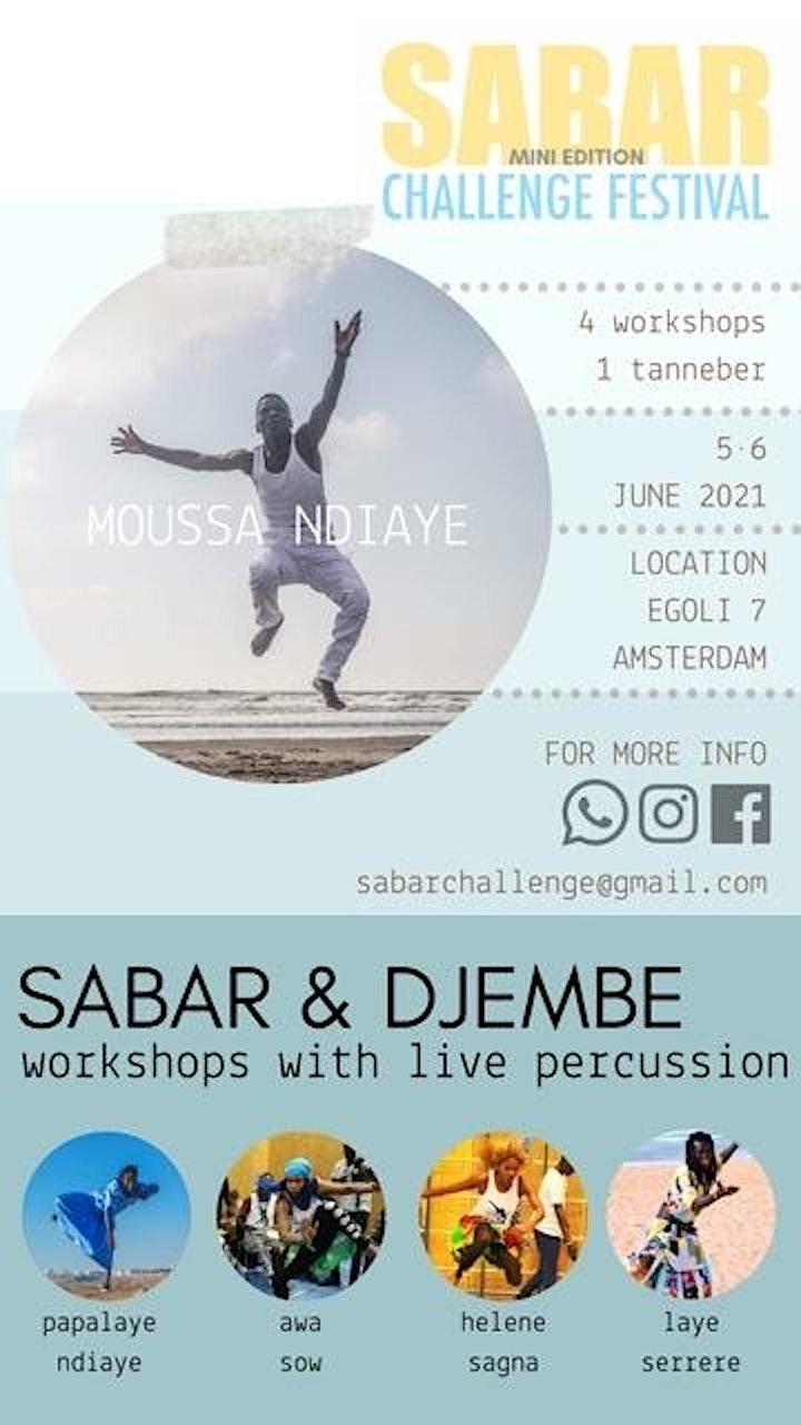 Afbeelding van Sabar Challenge Festival - Mini Edition