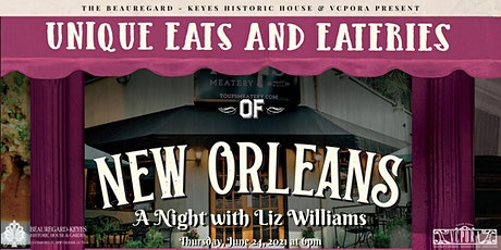Unique Eats and Eateries of New Orleans: An Evening with Liz Williams tickets