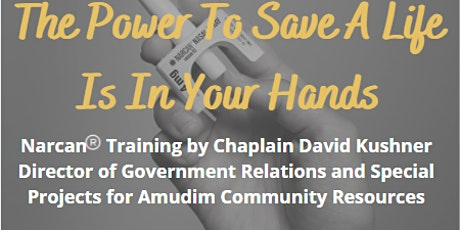 Saving Lives Five Towns Coalition and Amudim  Free Narcan Training tickets