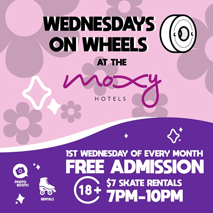 Wednesday on Wheels at The Moxy image