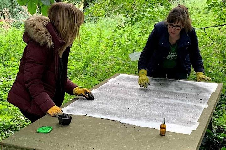 Gravestone Rubbing Experience at Kilkea Castle image