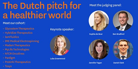 The Dutch Pitch for a Healthier World tickets