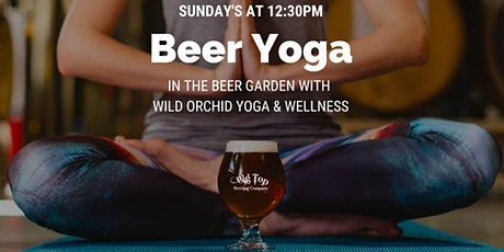 BEER YOGA every SUNDAY at Big Top tickets