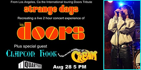 Strange Days- The Doors Concert Experience & Clapton Hook- A Cream Tribute tickets