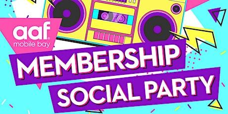 AAF Mobile Member Social tickets