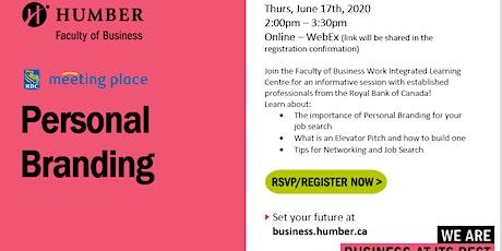 RBC - Personal Branding Workshop tickets