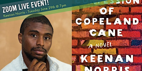 """Rediscovered Books Presents """"Conversation with author Keenan Norris"""" tickets"""