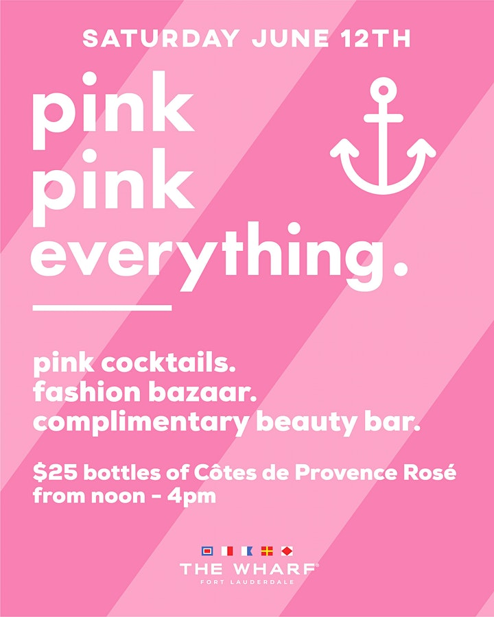 Pink Pink Everything at The Wharf FTL! image