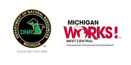 Virtual Job Fair for  Michigan DNR,  Silver Lake State Park tickets