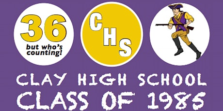 Clay High School Class of 1985's Thirty-Sixth Reunion! tickets