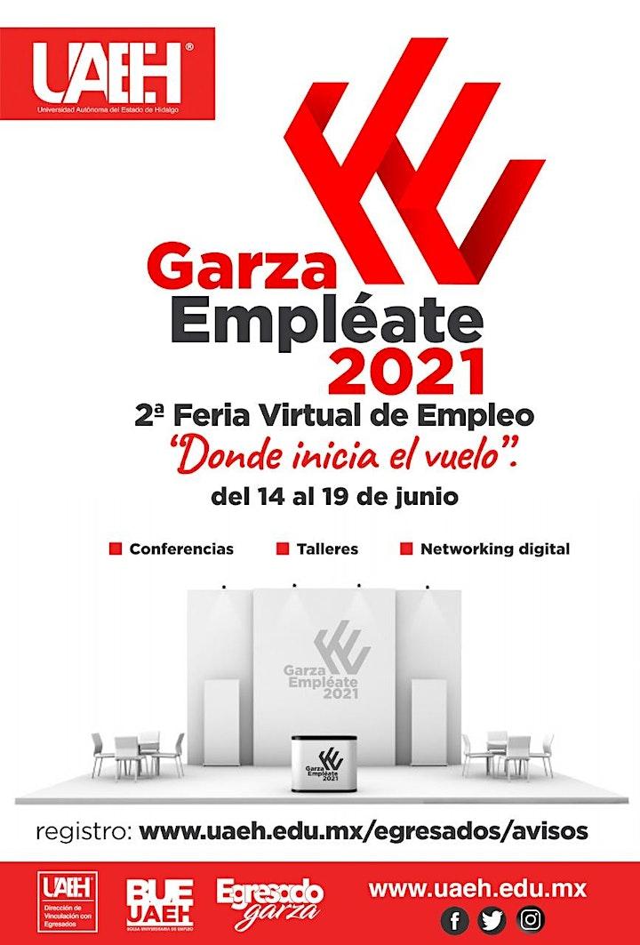 Imagen de Garza Empléate 2021 Segunda Feria Virtual del Empleo