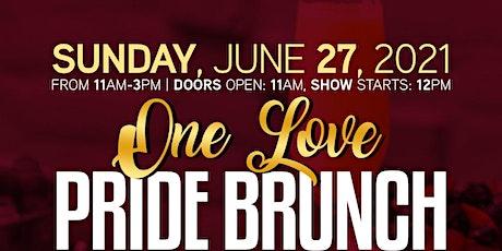 ONE LOVE PRIDE BRUNCH tickets