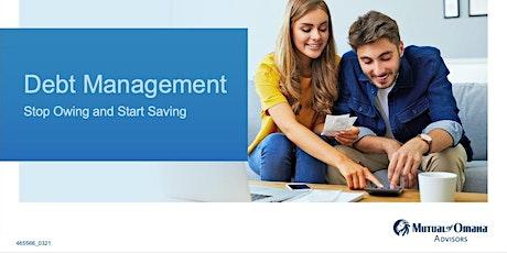 Financial Concepts for Millennials- Debt Management tickets