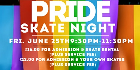 Pride Skate Night tickets