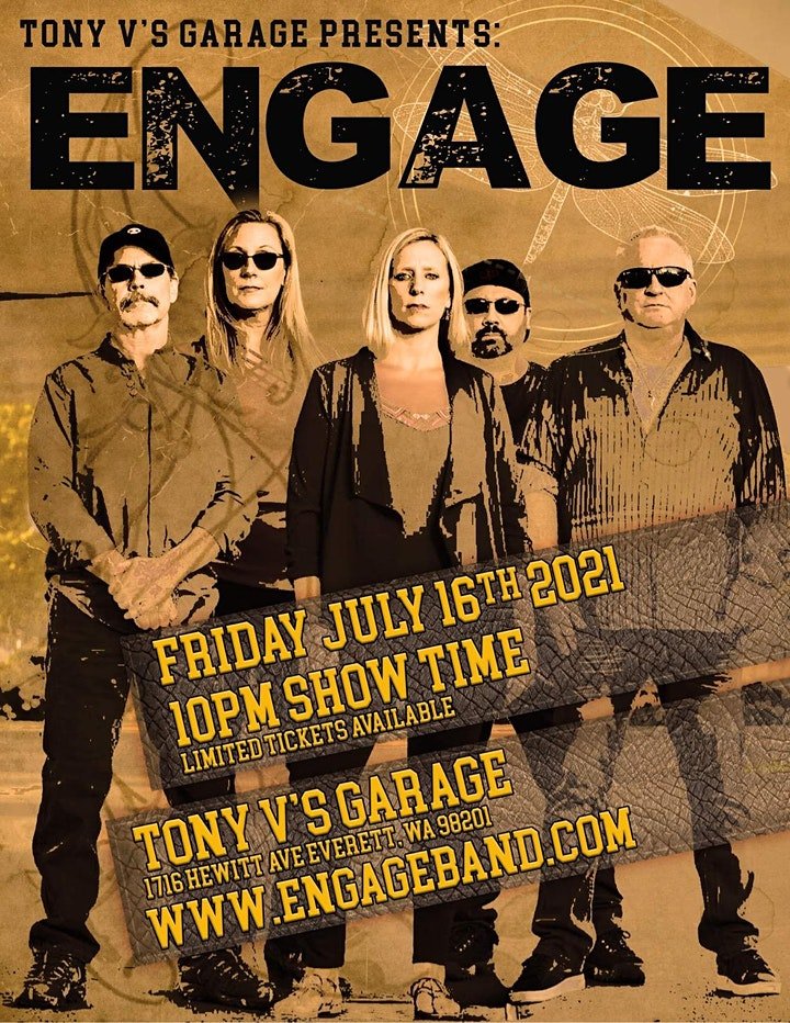 Engage with Hall Pass live at Tony V's image
