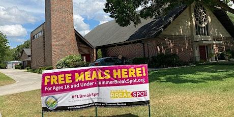 Free Meals for Kids - Summer Break Spot tickets
