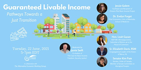 Guaranteed Liveable Income: Pathways towards a just transition tickets