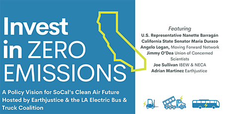 Invest in Zero Emissions: A Policy Vision for SoCal's Clean Air Future⚡️ tickets