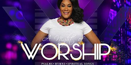 A Night of Worship with Psalmist Sarenina tickets