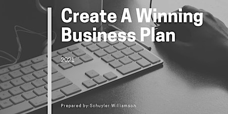 How To Create A Winning Business Plan tickets