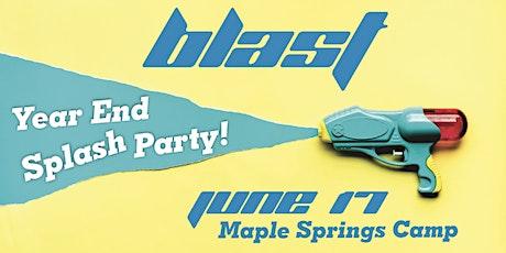 Blast Year End Splash Party tickets