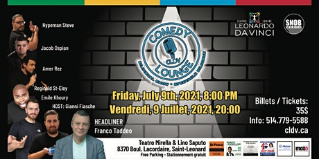 CLDV Comedy Lounge #13 // Franco Taddeo tickets
