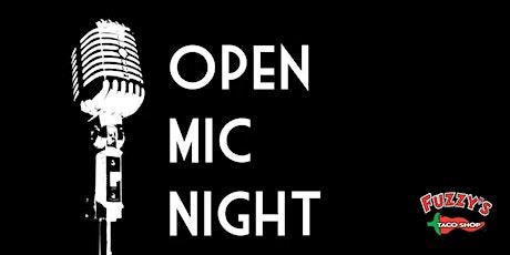Open Mic Night @ Fuzzy's Tacos tickets
